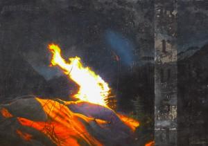 BRUSA 89x125cm olio su multistrato 2013